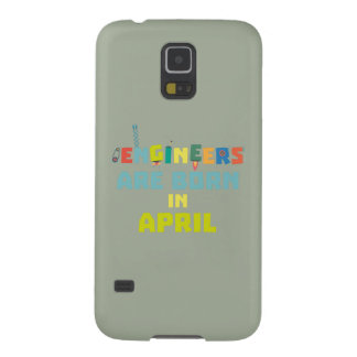 Capinhas Galaxy S5 Os engenheiros são em abril Z5h58 nascidos