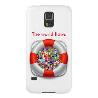 Capinhas Galaxy S5 Os fluxos do mundo