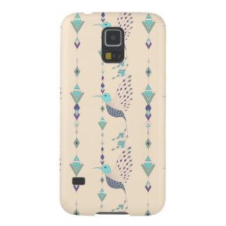 Capinhas Galaxy S5 Pássaro asteca tribal étnico do vintage