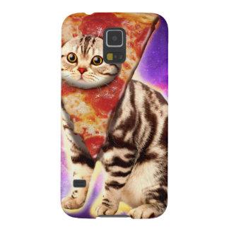 Capinhas Galaxy S5 Pizza do gato - espaço do gato - memes do gato
