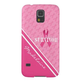 Capinhas Galaxy S5 Sobrevivente feito sob encomenda do cancro da mama