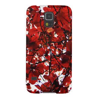 Capinhas Galaxy S5 Sólido antigo abstrato Shin da arte da forma do
