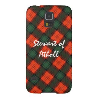 Capinhas Galaxy S5 Stewart do Tartan escocês do Kilt de Atholl