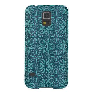 Capinhas Galaxy S5 Teste padrão antigo real luxuoso floral