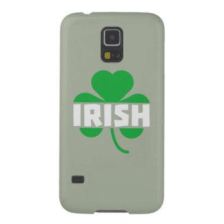 Capinhas Galaxy S5 Trevo irlandês Z2n9r do cloverleaf