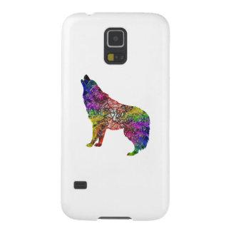 Capinhas Galaxy S5 Uivo psicadélico