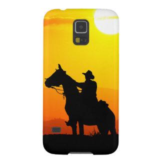 Capinhas Galaxy S5 Vaqueiro-Vaqueiro-luz do sol-ocidental-país do por
