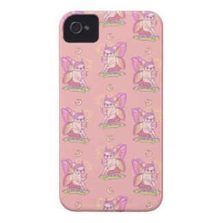 Capinhas iPhone 4 A fada bonito de Frenchie está moldando um período