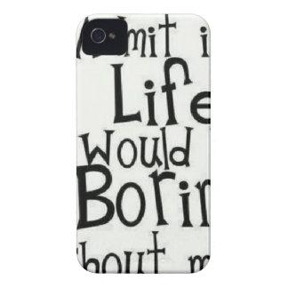 Capinhas iPhone 4 Admita-o… Vida…