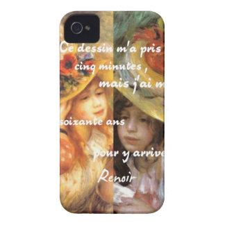 Capinhas iPhone 4 As pinturas de Renoir são abundância do amor