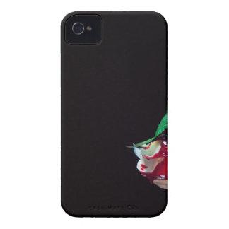 Capinhas iPhone 4 Aumentou o lado branco do vermelho do sangue