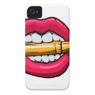 Capinhas iPhone 4 bala na boca