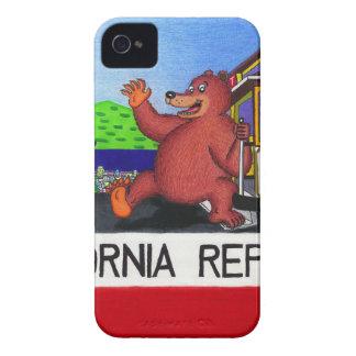 Capinhas iPhone 4 Bandeira do urso de San Francisco Califórnia