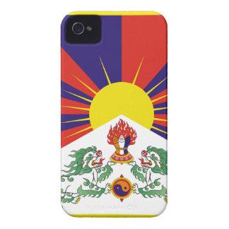 Capinhas iPhone 4 Bandeira livre de Tibet - ་ do བཙན do ་ do རང do ་