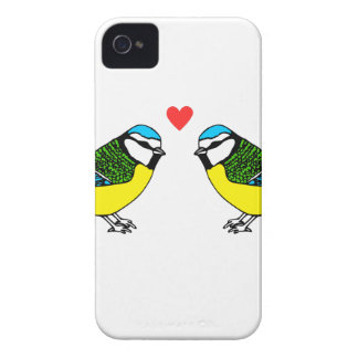 Capinhas iPhone 4 Bluetits no amor