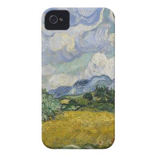 Capinhas iPhone 4 Bosque de Cypress e campo de trigo