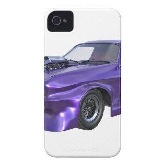 Capinhas iPhone 4 Carro do músculo de 2016 roxos