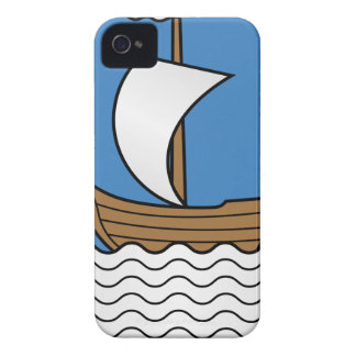 Capinhas iPhone 4 Coat_of_Arms_of_Dzisna, _Belarus