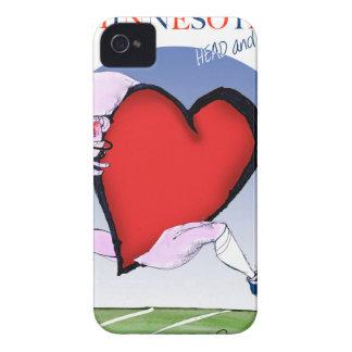 Capinhas iPhone 4 coração principal de minnesota, fernandes tony
