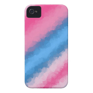 Capinhas iPhone 4 Cores do arco-íris do algodão doce