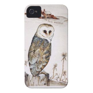 Capinhas iPhone 4 Coruja de celeiro na caça