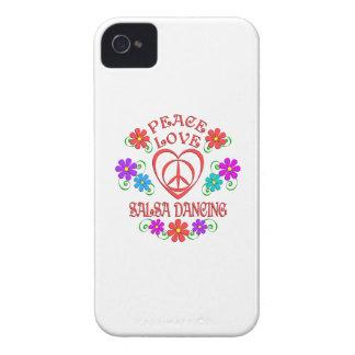 Capinhas iPhone 4 Dança da salsa do amor da paz