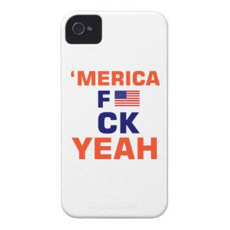 Capinhas iPhone 4 De Merica camiseta yeah