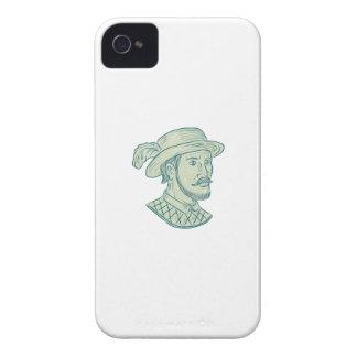 Capinhas iPhone 4 Desenho do explorador de Juan Ponce de Leon