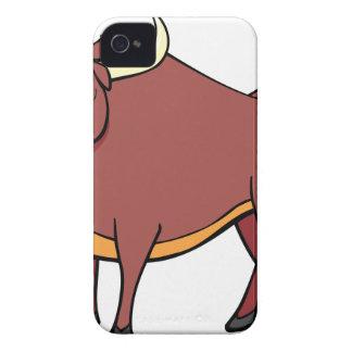Capinhas iPhone 4 Desenhos animados irritados de Bull