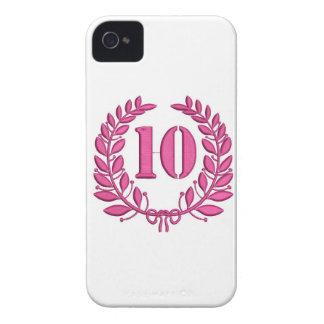 Capinhas iPhone 4 dez louros - jubileu, imitação do bordado