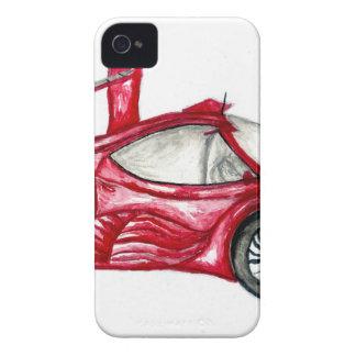 Capinhas iPhone 4 Esboço do carro desportivo