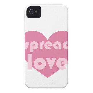 Capinhas iPhone 4 Espalhe o amor (geral)