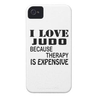 Capinhas iPhone 4 Eu amo o judo porque a terapia é cara