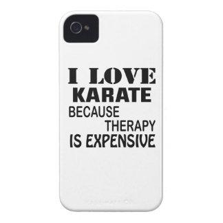 Capinhas iPhone 4 Eu amo o karaté porque a terapia é cara
