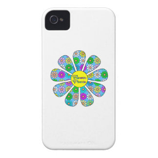 Capinhas iPhone 4 Flower power feliz