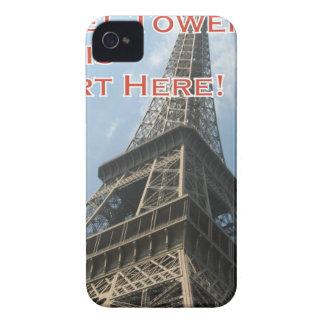 Capinhas iPhone 4 Francês do verão 2016 de Paris France da torre