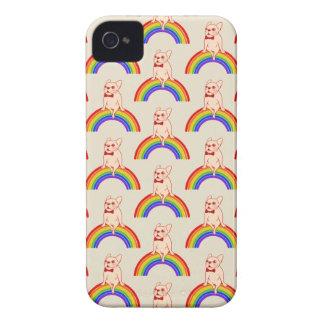 Capinhas iPhone 4 Frenchie comemora o mês do orgulho no arco-íris de