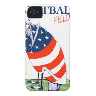 Capinhas iPhone 4 Golo de campo do futebol, fernandes tony