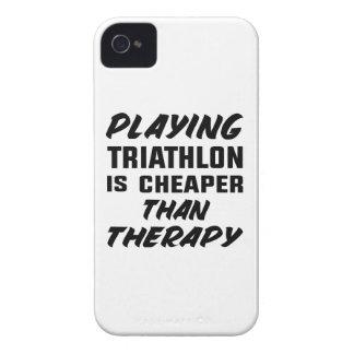 Capinhas iPhone 4 Jogar o Triathlon é mais barato do que a terapia