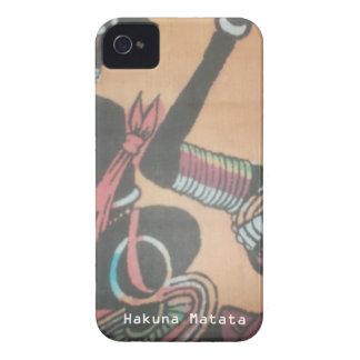 Capinhas iPhone 4 MAASAI Hakuna Matata.