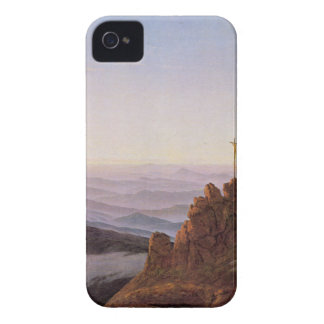 Capinhas iPhone 4 Manhã em Riesengebirge - Caspar David Friedrich