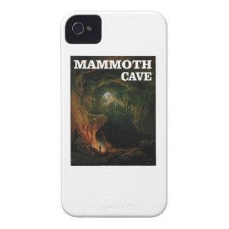 Capinhas iPhone 4 marrom gigantesco da caverna
