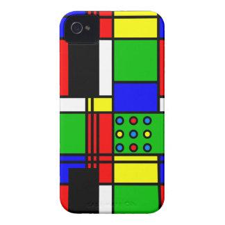 Capinhas iPhone 4 Mondrian modelo