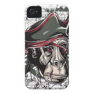 Capinhas iPhone 4 monkey o design bonito do pirata