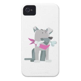 Capinhas iPhone 4 Osso de cão de Hund Knochen