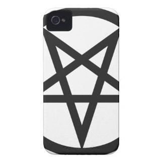Capinhas iPhone 4 Pentagram corajoso