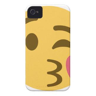 Capinhas iPhone 4 Smiley Kiss Emoji