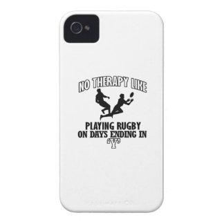 Capinhas iPhone 4 Tendendo o design do rugby