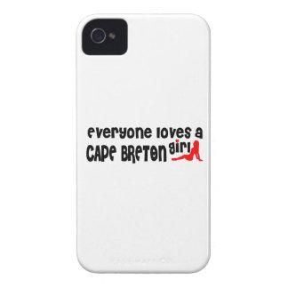 Capinhas iPhone 4 Todos ama um bretão do cabo