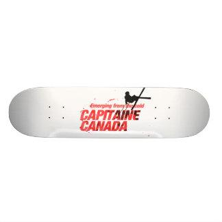 Capitaine Canadá: Skates